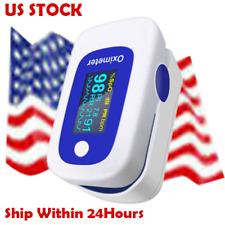 Fda Finger Pulse Oximeter Blood Oxygen Sensor Meter SpO2 Pr Pi Respiration Rate