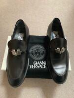 Gianni Versace Mens Shoes Size 8 Uk Vintage