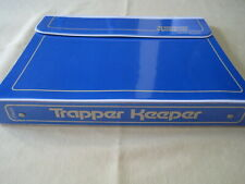 Trapper Keeper Notebook 29096 Blue 5 Portfolio Folders Folders & Notepad 1980s