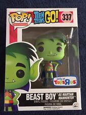 Funko Pop! Beast Boy Teen Titans Go (As Martian Manhunter) Toys R Us Exclusive.