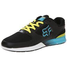 42.5 / 9 - Scarpe Uomo Fox Racing Motion Concept Black Blue Sneakers Schuhe