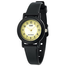Casio Women's Black Resin Watch, Analog, Water Resistant, LQ139A-9B3