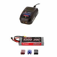 Venom 20C 2S 5000mAh 7.4V LiPo Battery with Sport Charger Combo
