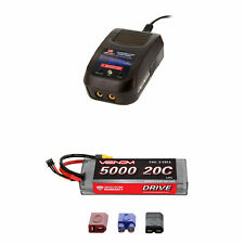Venom 20C 2S 5000mAh 7.4V LiPo Battery with Sport Charger Combo