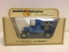 MATCHBOX / MOY  - 1912 MODEL T - CEREBOS - 1/35.SCALE MODEL - Y-12 / CIRCA 78