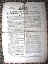 X217-REP.CISALPINA-DIP.DEL RENO ORGANIZZAZIONE GUARDIA NAZIONALE