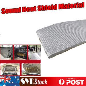 10sq.ft Car SUV SE Hood Bonnet Heat Sound Deadener Proofing Road Noise Dampening