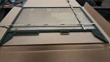 Military Truck Left Side Drivers Door Window with Frame for M35 Deuce 6x6 5 ton
