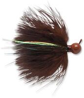 VMC Marabou Hair Jig Cold Water Smallmouth Bass Fishing Hair Jig Finesse Lure