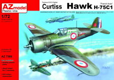 "AZ Model 1/72 Curtiss Hawk H-75C-1 ""French Aces"" # 7569"