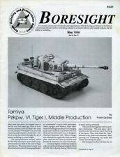 Boresight Tamiya PzkpwVI TigerI Middle Production Vol.4 No.3 5.1996 May Magazine