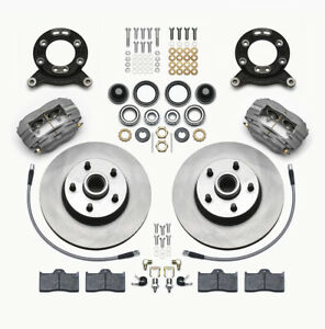 Wilwood 140-13476 Classic Series Dynalite Front Brake Kit 1965-1970 Ford Mustang