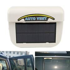 Solar Sun Powered Car Auto Air Vent Cool Fan Cooler Ventilation Radiator System