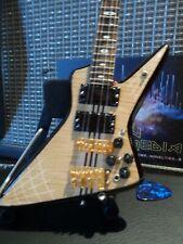 JOHN ENTWISTLE (Who)-Alembic Explorer Bass 1:4 Scale Replica Guitar ~Axe Heaven~