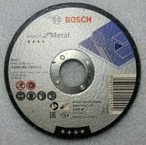 Bosch 2608600318 EXPERT METAL Cutting Discs Angle Grinder Discs 125mm 80 m/s