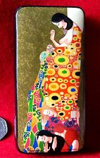 Genuine Russian LACQUER Box Klimt hand made HOPE II Expecting Mother Christening