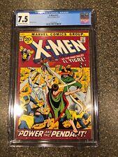 X-Men #73 CGC 7.5 VF Awesome Early Bronze 1971 Book El Tigre Mint Slab FREE SHIP