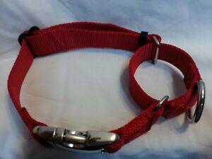 Carter Pet Martingale Dog Collar  USA Made Tough (METAL BUCKLES)