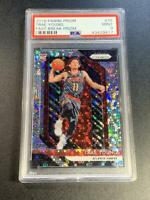 TRAE YOUNG 2018 PANINI PRIZM #78 FAST BREAK REFRACTOR ROOKIE RC PSA 9 HAWKS (A)