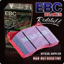 EBC REDSTUFF PADS DP31909C FOR FERRARI 360 3.6 (PADS WEAR INDICATOR SLOT) 99-05