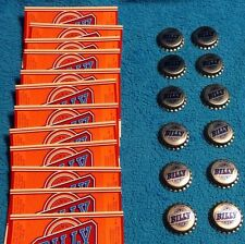 OLD Rare Vintage BILLY BEER LABELS And CAPS 12 Unused NOS President Jimmy Carter