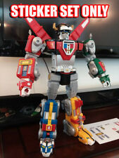 Playmates VOLTRON 84' Classic style, custom UNCUT sticker set. FREE SHIPPING!