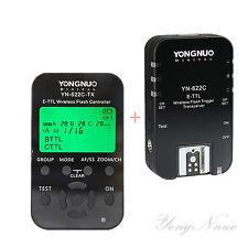 Yongnuo TTL YN622C-TX + YN622C Flash Trigger for Canon 1200D 5DIV 7DII 6DII T6i
