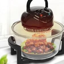 SUPERLEX Halogen Oven Cooker Convection Air Fryer 1400W Temperature Control
