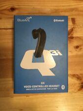 BlueAnt Q3i Premium Black Voice Control Bluetooth Headset