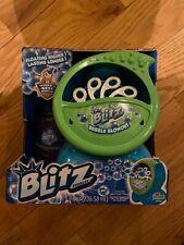 Blitz Bubble Blowout Machine with FREE 32oz Bubble Solution Bottle Ages 5+