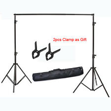 Photography 2x2M 6.5*6.5FT Studio alloy Backdrop Stand Holder Tripod to Russia