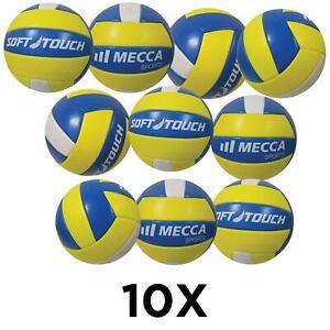 10 x Volleyballs - Soft Touch Outdoor Beach