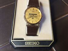 Rare SEIKO Shell employee GAS & OIL Promo Vintage SEIKO   Men's Watch In Box