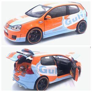 1/18 Norev Volkswagen Golf V Zender Gulf Tuning Ed Limited Livraison Domicile
