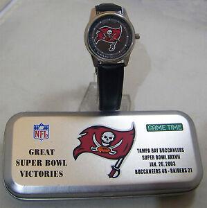 Tampa Bay Buccaneers Super Bowl 37 Watch Commemorative Wristwatch New