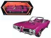 1970 Dodge Coronet R/T Purple 1/18 Diecast Model Car by Road Signature