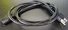 5Ft 3-Prong IEC Power Supply Universal Cable Cord Plug Computer LCD CRT Monitor