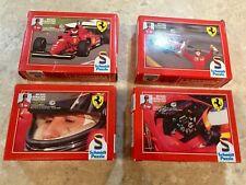 4 x VINTAGE Michael Schumacher 1996 formule une saison 54 Piece Jigsaw Puzzles