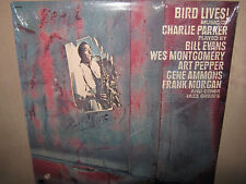 Charlie Parker BIRD LIVES Music BILL EVANS Hank Sam Jones Gene Ammons SEALED LP
