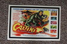 Caltiki Lobby Card Movie Poster John Merivale