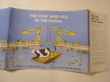 The Cow Who Fell in the Canal, Phyllis Krasilovsky, Spier, Dust Jacket Only