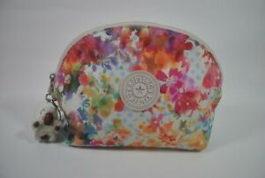 New With Tag KIPLING ZADOK Pouch Cosmetic Case AC8164 9AQ - Garden Happy