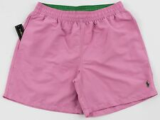 Men's POLO RALPH LAUREN Pink Swimsuit Trunks Large L NWT NEW 4103156 Nice!
