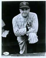 Joe Mccarthy Yankees Jsa Coa Signed 8x10 Photo Authenticated Autograph