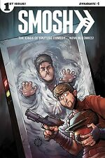 SMOSH 1 COVER C STAR WARS HAN SOLO HOMAGE VARIANT DYNAMITE GAYLORD MAY RARE!