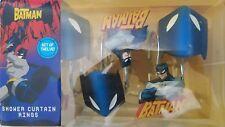 DC Comics Batman Set Of 12 Curtain Rings