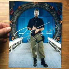 Richard Dean Anderson hand signed autograph on 8x10 photo UACC RD COA Stargate