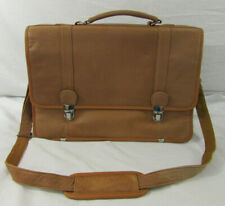 NEW Wilsons Leather Messenger Bag, Brown, Shoulder Bag, Laptop Bag, Briefcase