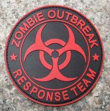 Parche ropa Zombie Outbreak Response Team Rojo y Negro - ENVIO GRATIS a ESPAÑA