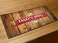 Fathers Day Gift Dads BBQ wood effect bar runner Pubs Clubs & Cocktail Bars